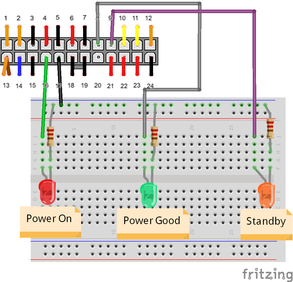 ATX Power Supply Conversion to Bench Power Supply